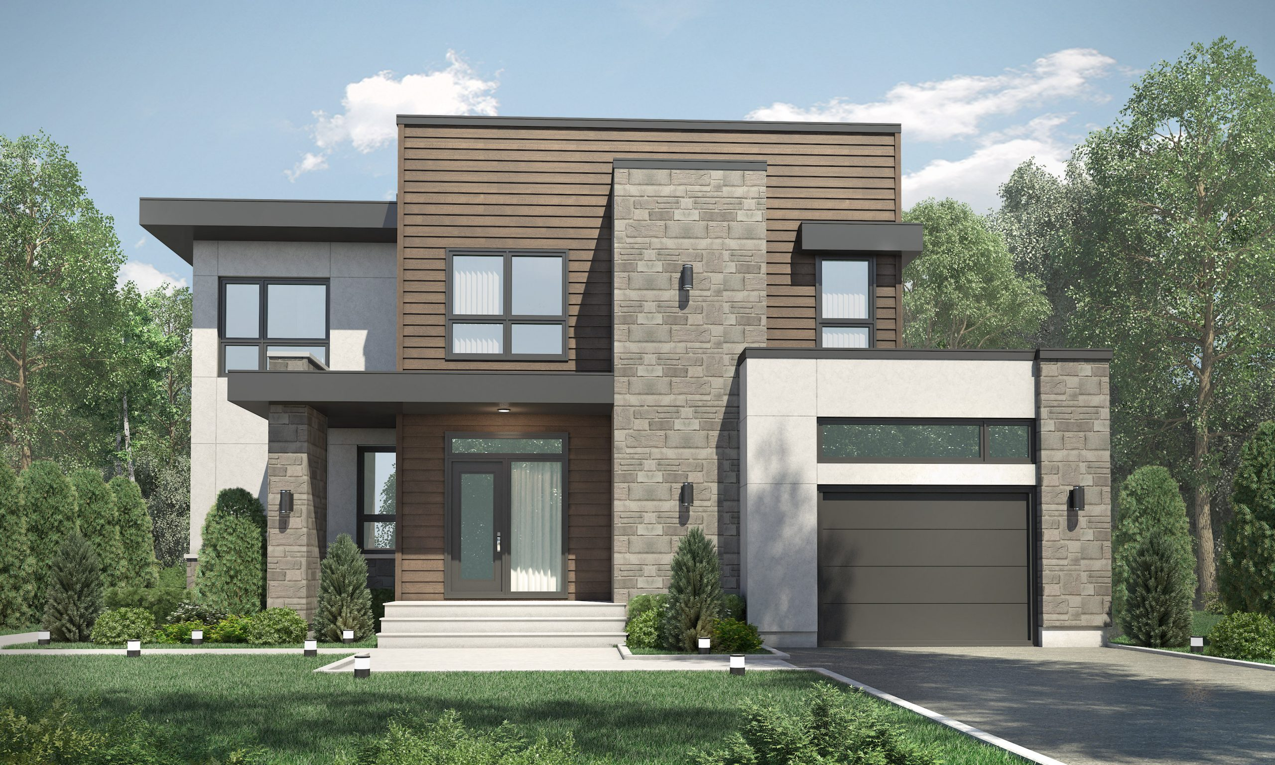 Construction SM Pro image modele FUGA façade