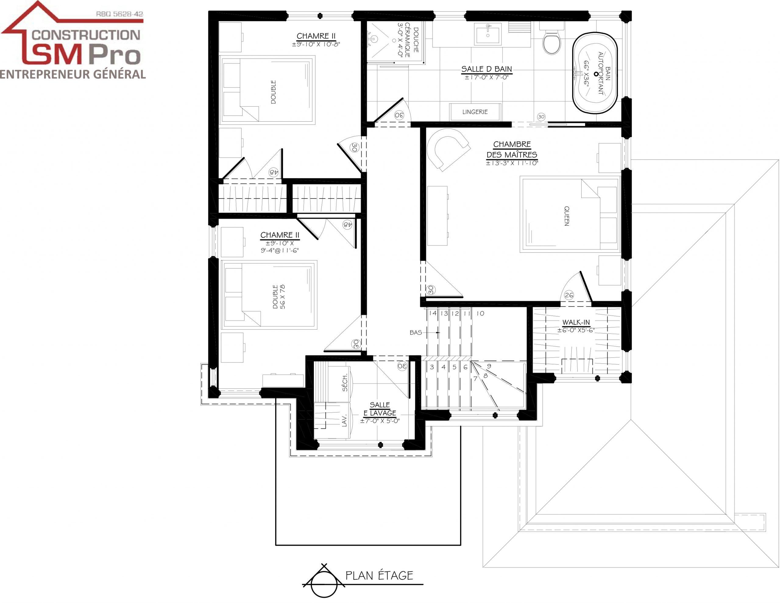Construction SM Pro image modele ALEANZA Etage