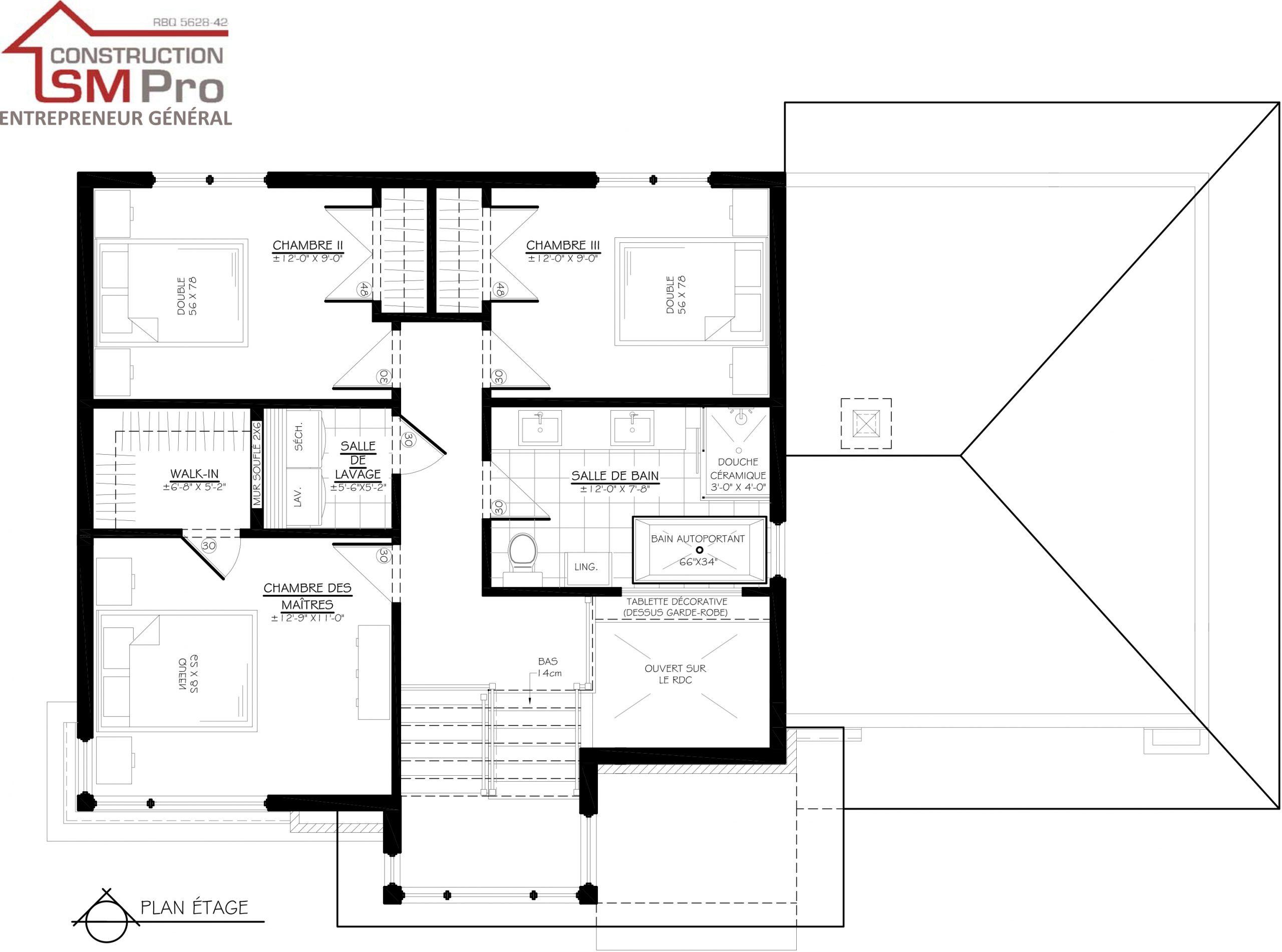 Construction SM Pro image modele PUR de l'étage