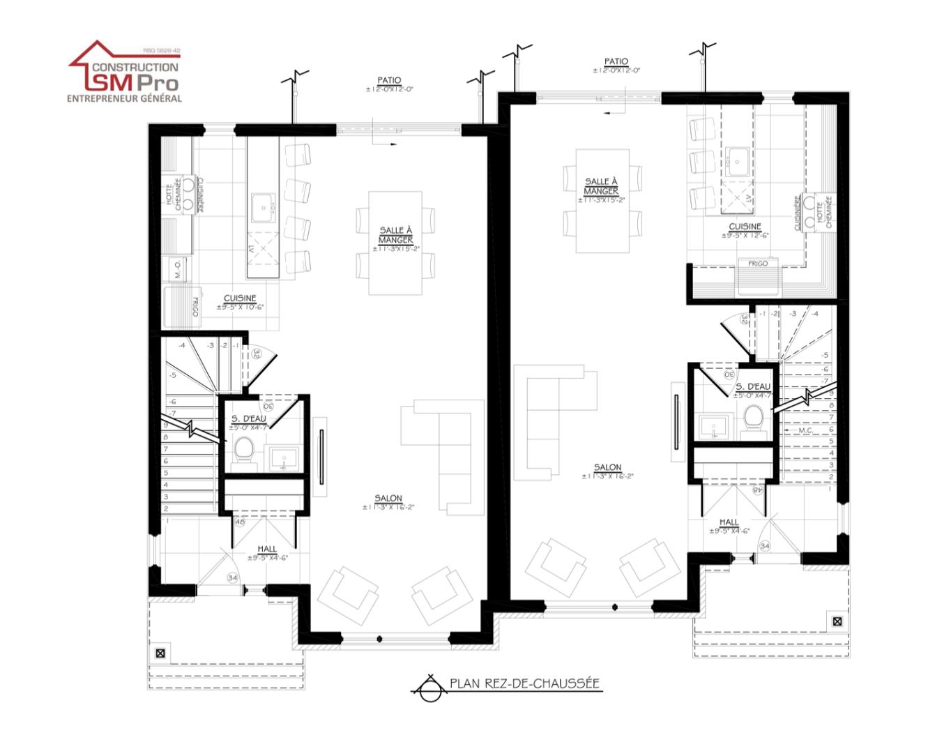 Construction SM Pro image plan projet ste-foy